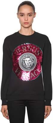 Versace Versus Sequined Sweatshirt