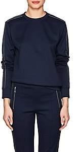 Area Women's Danielle Embellished Jersey Sweatshirt - Navy