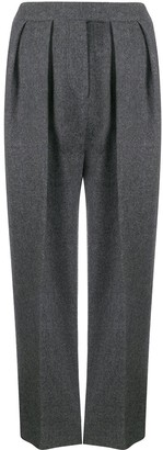 Yves Salomon tapered trousers