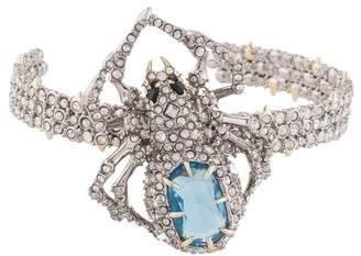 Alexis Bittar Crystal Spider Cuff