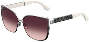 Jimmy ChooJimmy Choo Maty Metallic Butterfly Sunglasses