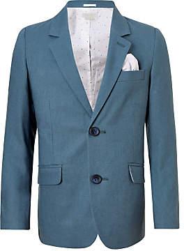 John Lewis Heirloom Collection Boys' Linen Suit Jacket, Lagoon