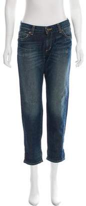 MICHAEL Michael Kors Mid-Rise Cropped Jeans w/ Tags