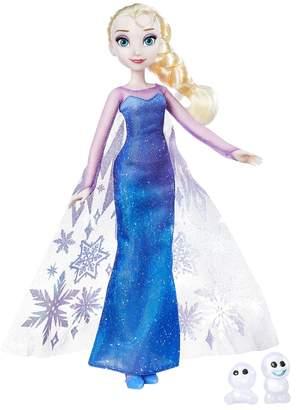 Kohl's Disney's Frozen Northern Lights Elsa Doll & Snowgies Figure Set