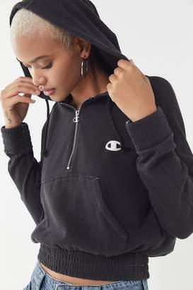 Champion Half-Zip Hoodie Sweatshirt