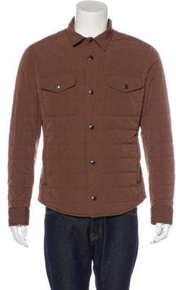 Brunello Cucinelli Quilted Shirt Jacket w/ Tags
