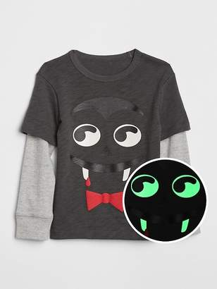 Gap Glow-in-the-Dark Graphic 2-in-1 T-Shirt