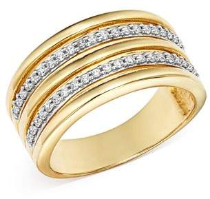 Bloomingdale's Diamond Multi-Row Band in 14K Yellow Gold, 0.20 ct. t.w. - 100% Exclusive