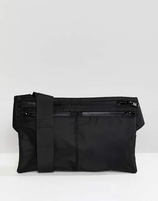Weekday zip waist bag