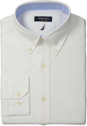 Nautica Men's Oxford Shirt with Button Down Collar