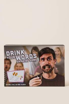 Thumbs Up Drink Your Words Shot Game