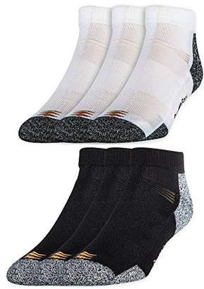 PowerSox Men's Power-Lites No Show Socks