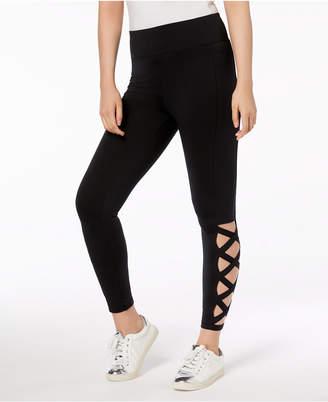 Material Girl Juniors' Laddered Leggings