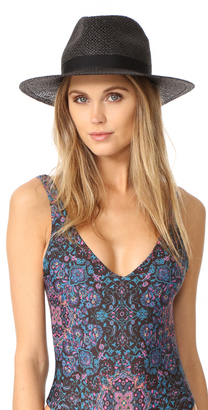 Hat Attack Twisted Continental Hat $80 thestylecure.com