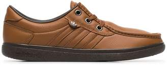 adidas brown punstock SPZL sneakers