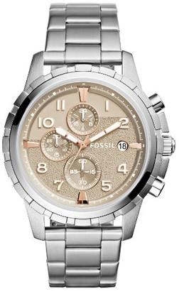 Fossil Dean Chrongraph Bracelet Watch, 45Mm $145 thestylecure.com