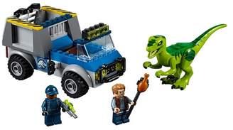Lego Juniors Raptor Rescue Truck - 10757