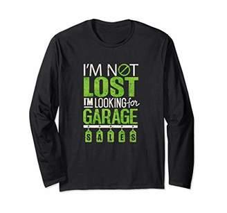Funny Garage Sales Yard sales Auction T Shirt Long Sleeve T-Shirt