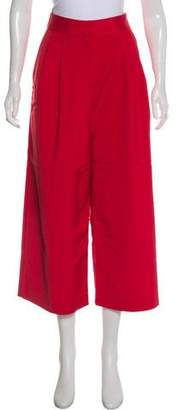 Tibi High-Ride Wide-Leg Pants