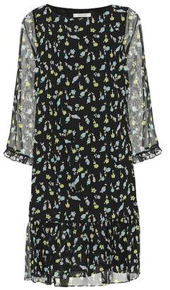 Schumacher Dorothee Nightfall Meadow silk dress