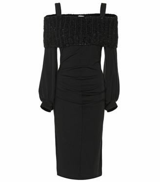 Brunello Cucinelli Stretch-wool dress
