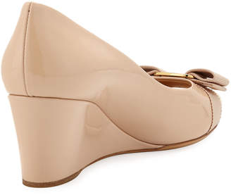 cd7c3d1b4178 ... Salvatore Ferragamo Vara Mid-Wedge Pumps