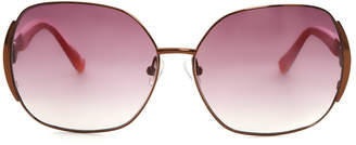 Matthew Williamson Linda Farrow x Rose Gold Sunglasses