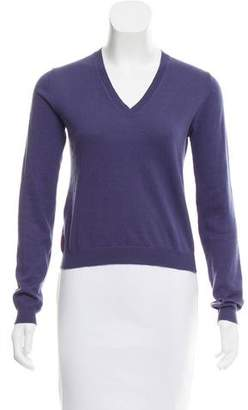 Prada Sport V-Neck Long Sleeve Sweater