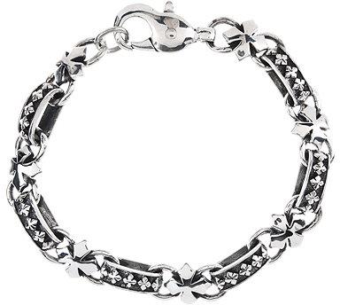 King Baby Studio MB Cross Light Link Bracelet