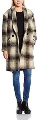 Gat Rimon Women's Raki Reefer Long Sleeve Coat,(Manufacturer Size: 38)