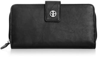 Giani Bernini Sandalwood Leather All in One Wallet, Created for Macy's