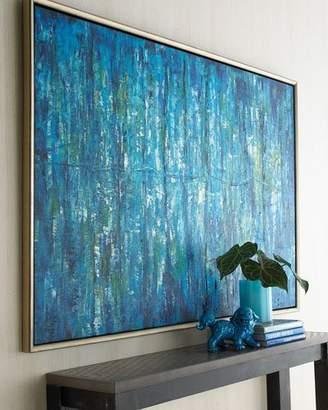"John-Richard Collection Blue Jinlu"" Original Painting"