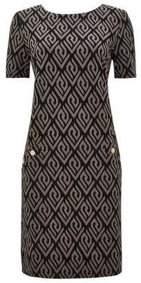 Wallis Stone Textured Shift Dress