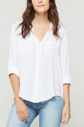 Velvet Heart Riley Fray Hem Shirt