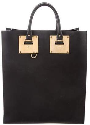 Sophie Hulme Albion Leather Tote