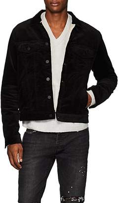 ATM Anthony Thomas Melillo Men's Sherpa-Lined Cotton Corduroy Jacket
