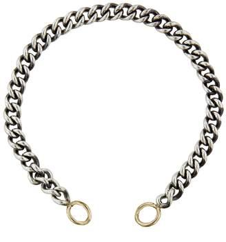 Marla Aaron Heavy Curb Chain Bracelet - Yellow Gold Loops