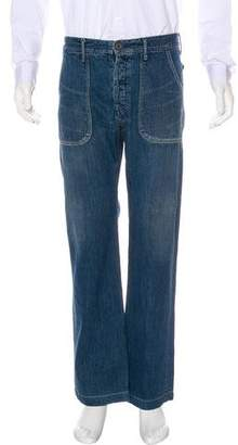 Kapital Five-Pocket Relaxed Jeans