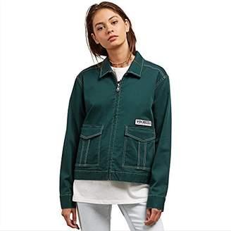 Volcom Junior's Frochickie Workwear Garage Style Jacket