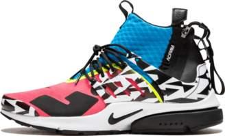 Nike Presto MID/Acronym - 'Racer Pink' - Racer Pink/Black