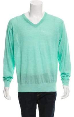 Peter Millar Wool & Linen-Blend Sweater w/ Tags