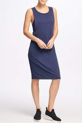 Donna Karan Sleeveless Racerback Slip Dress