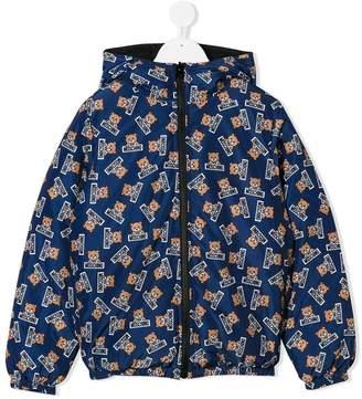 Moschino Kids TEEN reversible down jacket