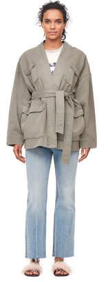 Rebecca Taylor La Vie Army Twill Belted Jacket