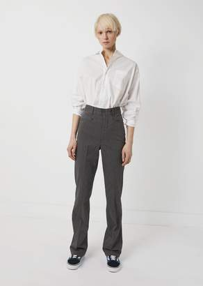 R 13 Colleen Pant Charcoal Pinstripe