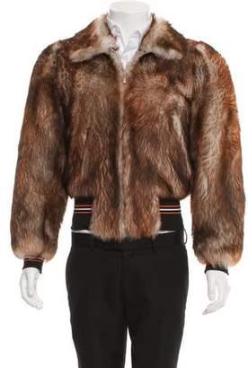 Christian Dior 2017 Shearling Jacket