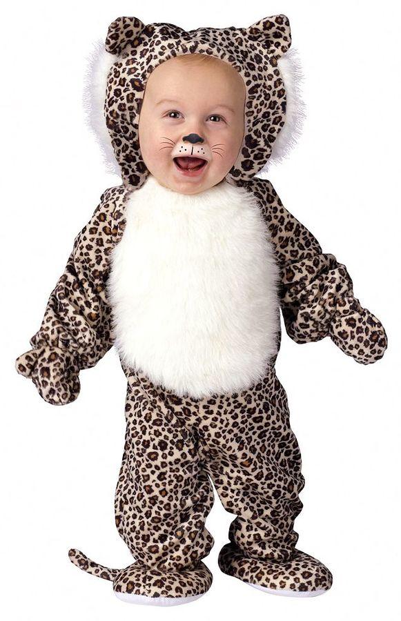 Li'l leopard costume - baby