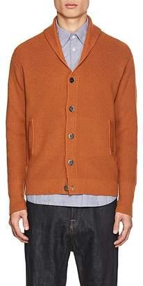 Barena Venezia Men's Chunky Rib-Knit Wool Cardigan