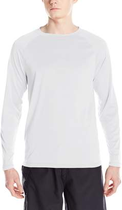 Kanu Surf Men's UPF 50+ Long Sleeve Rashguard Swim Tee