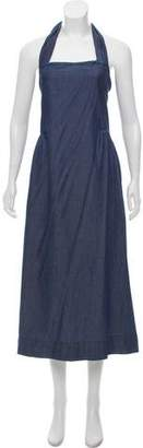 Hatch Chambray Maxi Dress